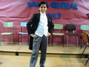 En Novelda Conservatorio Profesional de Música Mestre Gomis.