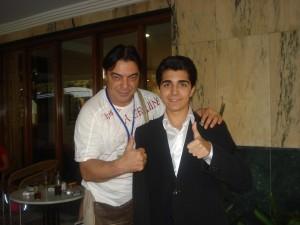 Con Antonio Canales Bailarin en Granada