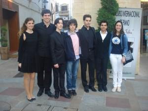 En Xavia con mis compañeros