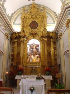 Capilla Monasterio Santa Faz