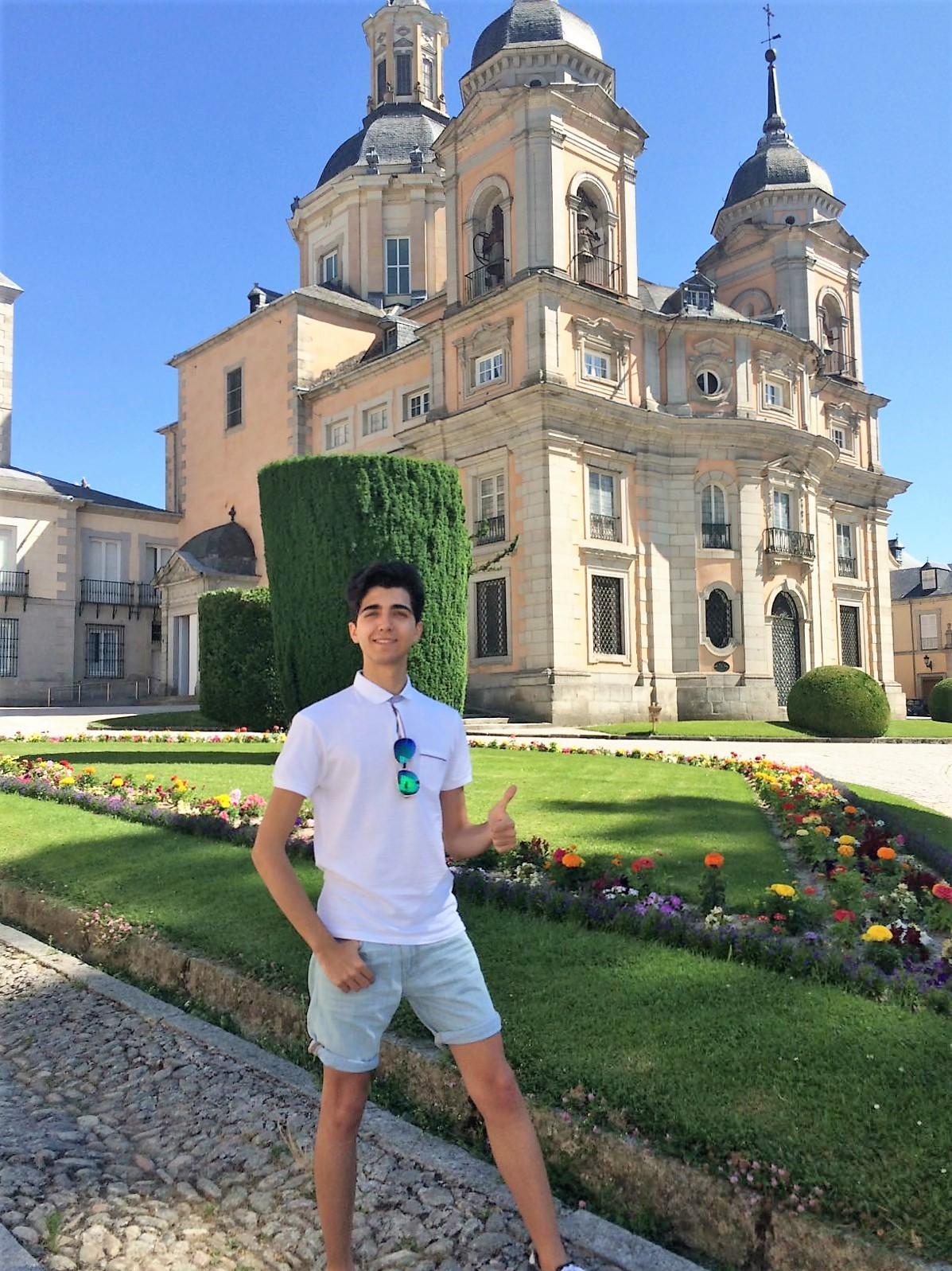 2 de Julio 2016 Concierto de piano solista en el Palacio de la Granja de San ...